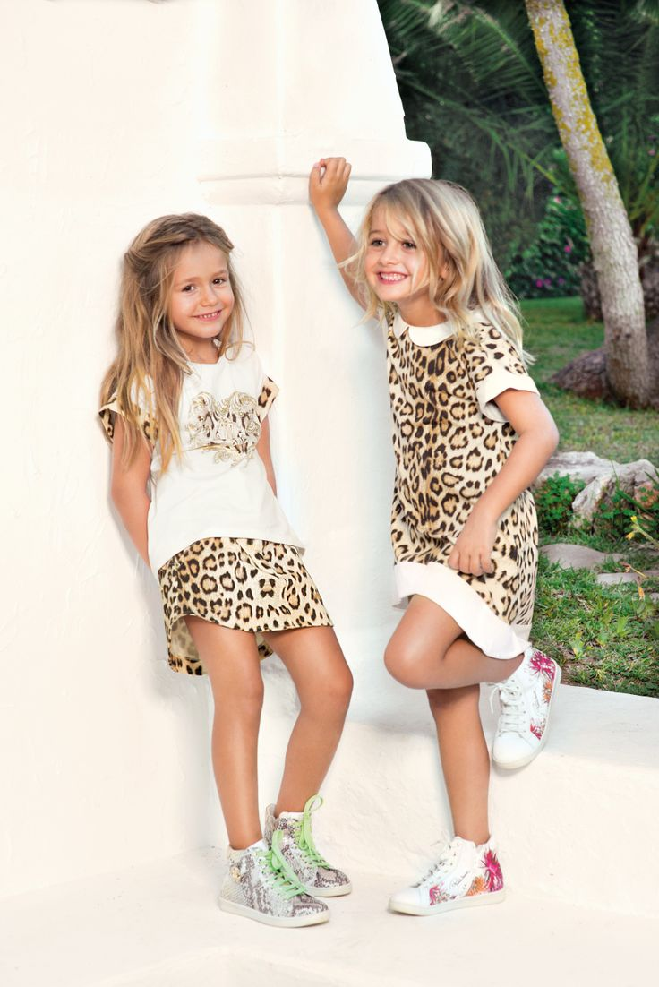 #RobertoCavalli SS 2014 Junior Collection