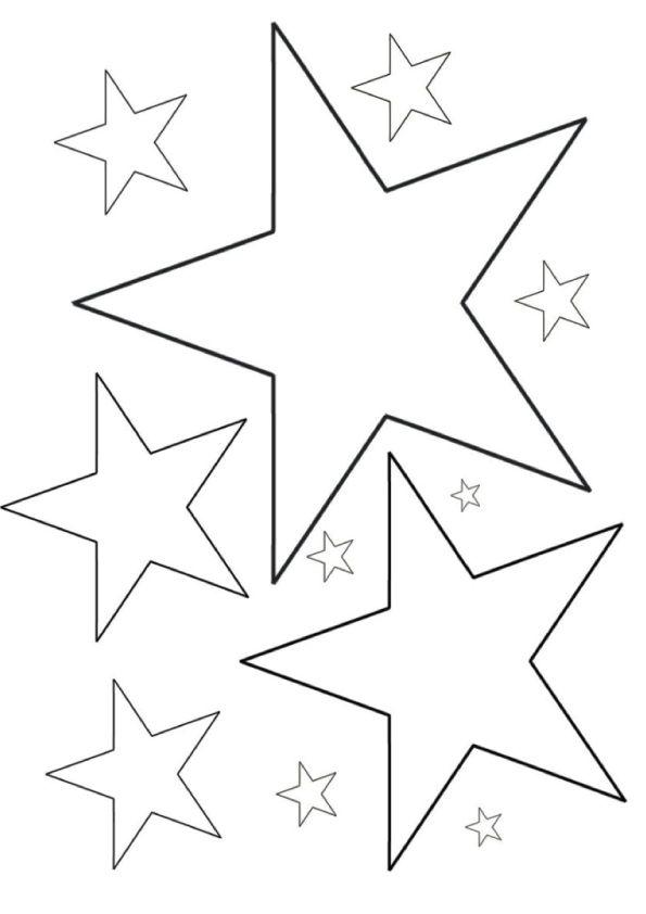 152 best STARSCOLOR PAGES images on Pinterest