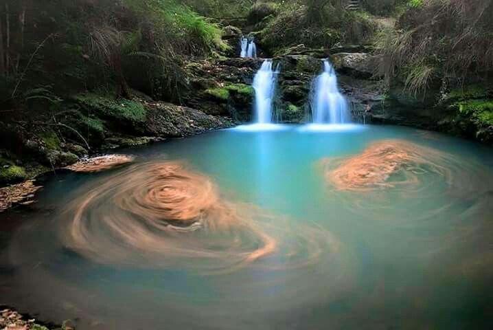 Cascada de cabu rniga cantabria rutas y viajes for Piscinas naturales santander