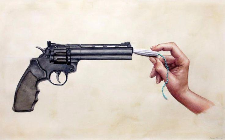 Frauen in den USA befürchten, dass ihre Rechte unter Trump mit Füßen getreten werden. Dagegen setzen Künstlerinnen mit kämpferischen Werken ein Zeichen. Unsere Kollegen von Ze.tt haben sich die Kunstwerke mal etwas genauer angesehen.