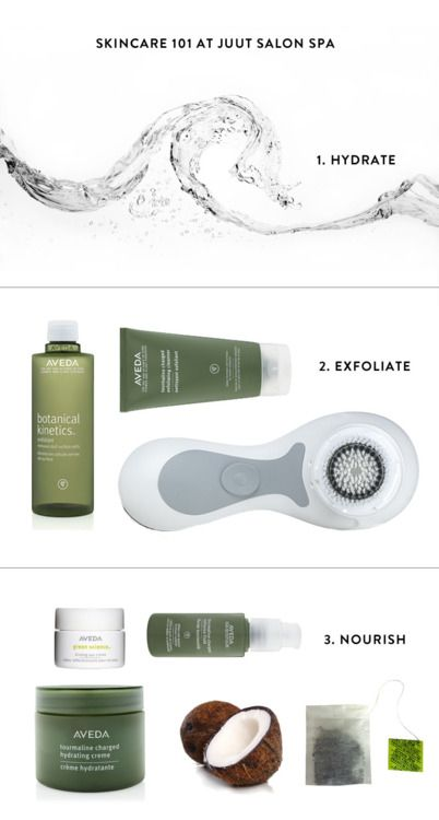 Aveda skin care:) One of many. It works so well for all skin types/ generations.