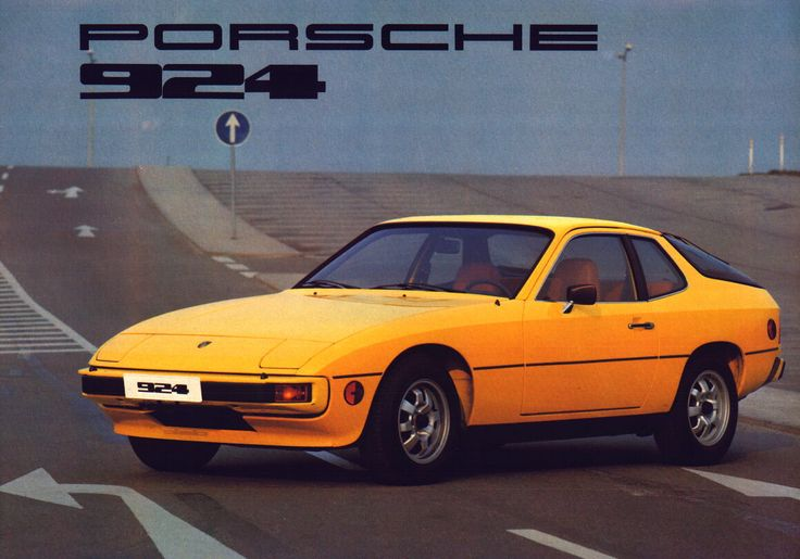 1976 porsche 924s yellow - Google Search
