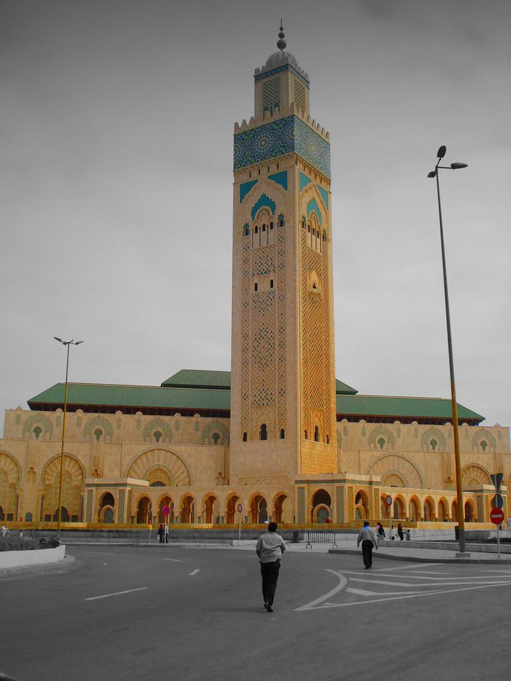 https://flic.kr/p/7kzyVG | Hassan II mosque (Casablanca, Morocco) | islam in Morocco represent the 98% of the population  it is the main religion in Morocco