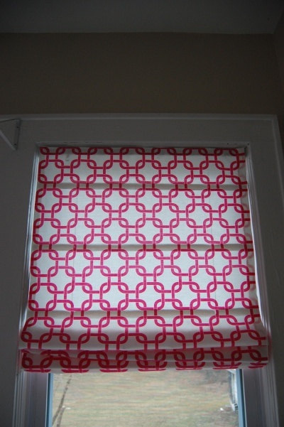 DIY roman shades with basic blinds from Made2Style.  Want to do in girls room and Living Room.