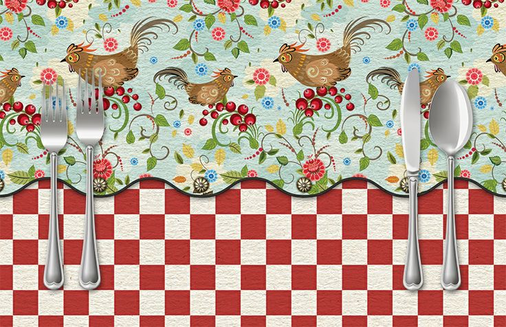 Birds & Berries Placemat | Sussies Home