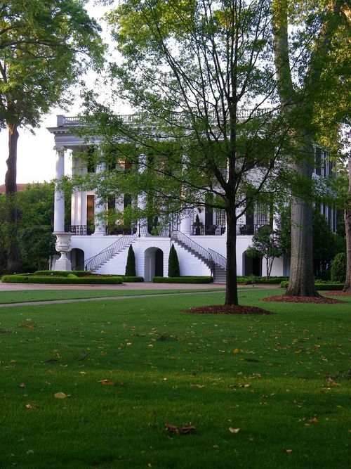 President's House on the campus of the University of Alabama