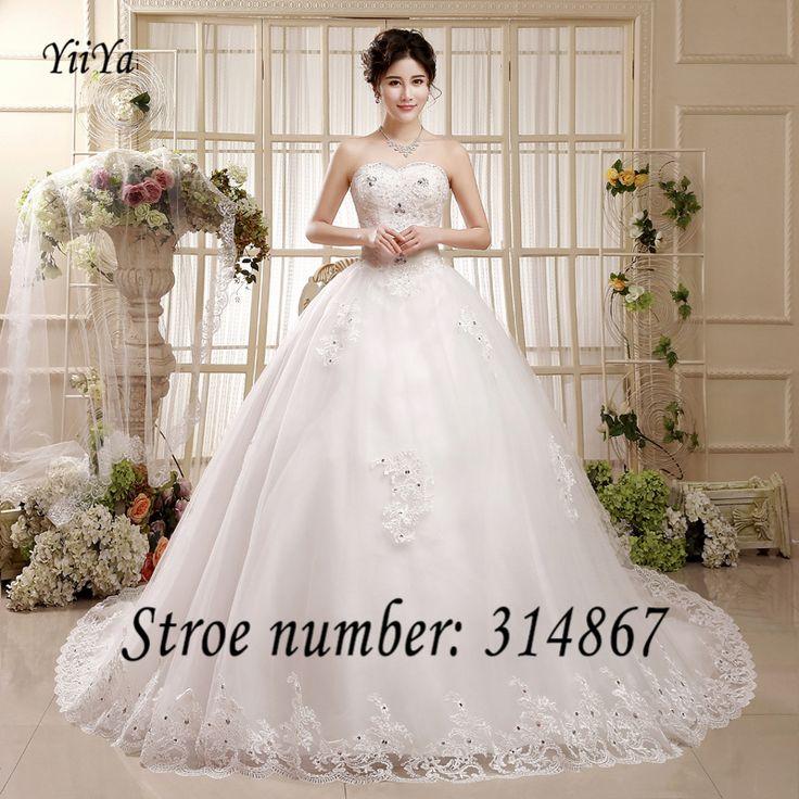 Ems доставка DHL новый 2016 дешевые платья свадебный поезд белое свадебное платья без бретелек кружева свадебные платья платье невесты HS602