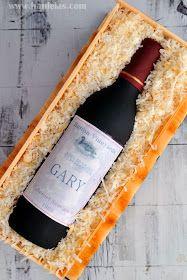 Haniela's: Wine Bottle in a Crate Cake Video Tutorial, Gumpaste Wine Bottle Tutorial