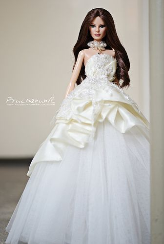 Barbie as a bride