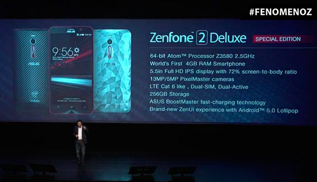 Meet Asus Zenfone 2 Deluxe Special Edition : Smartphone with Huge internal storage of 256GB
