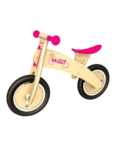 Take a look at this Diggin Pink Skuut Balance Bicycle by Playroom to Playground Collection on #zulily today!