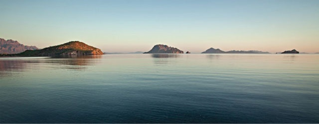 "Loreto Islands, Mexico. ""the five islands that float on the horizon of the Sea of Cortez have formed an ecological barrier creating an underwater concentration of every spectacular sea animal you could imagine"" #travel #mexico"