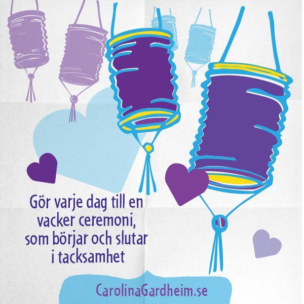 Tacksamhet! © Carolina Gårdheim