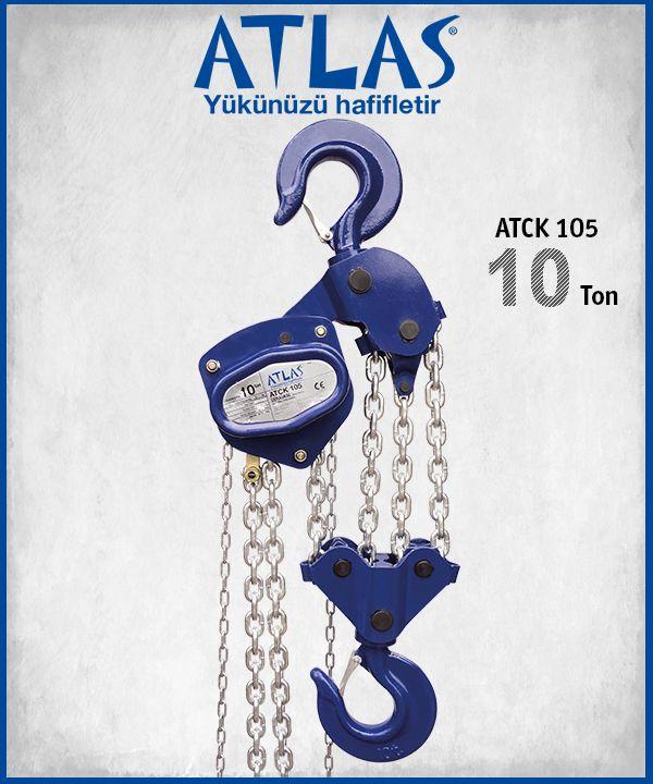 ATLAS manuel caraskal vinç ATCK, 10 ton taşıma ve  5 metre kaldırma kapasiteli caraskal vinçtir. http://www.ozkardeslermakina.com/urun/caraskal-vinc-atlas-caraskal-atck-105/ #atlas #vinc #caraskal #ceraskal #caraskal_vinc #ceraskal_vinc #manuel_vinc