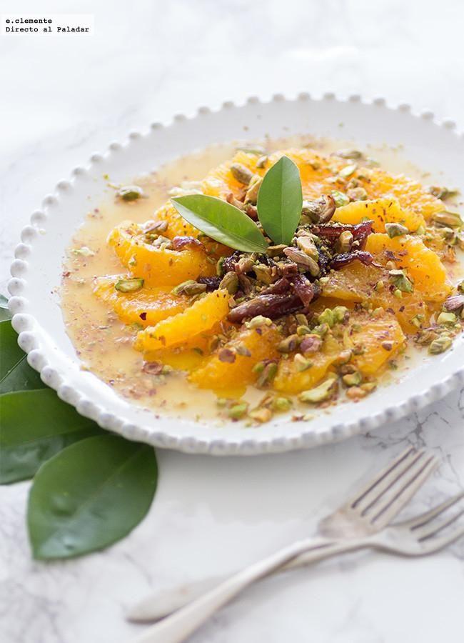 No es muy habitual servir como postre una especie de ensalada, pero estoy segura que si en tu mesa presentas esta ensalada dulce de naranjas y dátiles a tus ...