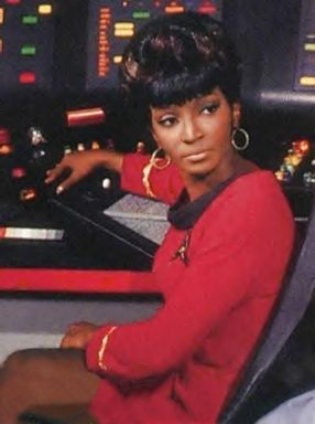 Star Trek's Lieutenant Uhura played by Nichelle Nichols