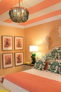 Striped Ceilings!