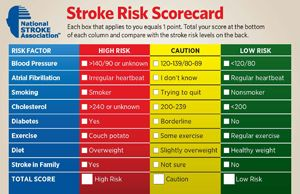 Stroke Risk Scorecard Link. This tool will help you see your personal risk for a stroke. #health #obesity #tutorial