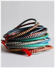 Made With Love Recycled Rubber Bracelets