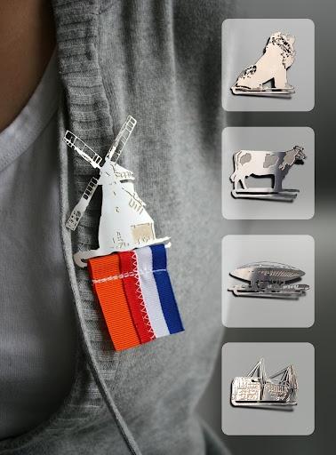 We gaan natuurlijk allemaal voor een lintje dit jaar! Dutch Design by Ulrike Jurklies - Mo man tai Design