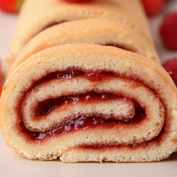 Jelly Roll CakeCake Recipe, Fatty Food, Desserts Sweets, Food Lovin