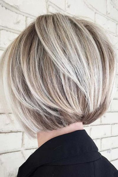 Short Layered Bob Hairstyles will