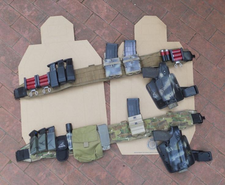 Battle Belts Ccw Edc Bug Out Pack Pinterest