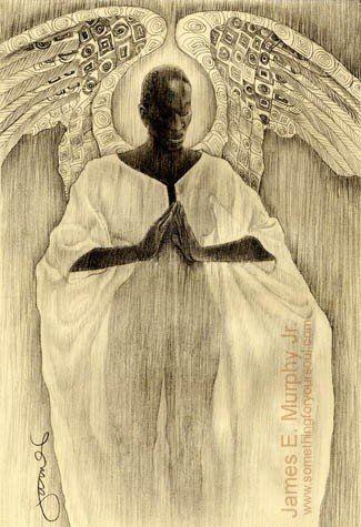 """Open Edition Giclee entitled: """" KENTE WINGS """" by artist James E. Murphy Jr."""