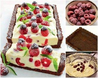 Chocolate-and-Raspberry-Cheesecake-WONDERFUL DIY