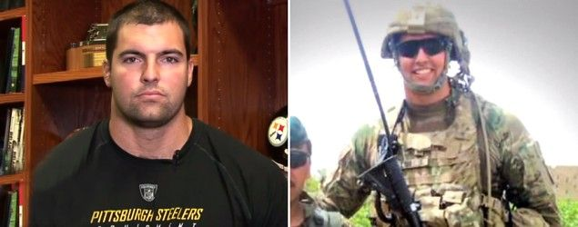 Alejandro Villanueva went from serving in Afghanistan to playing for the Pittsburgh Steelers (NFL)