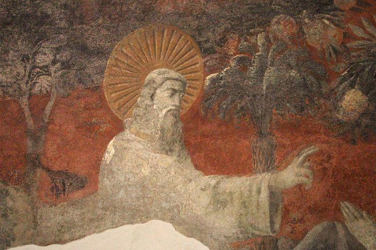 Paolo Uccello - Creazione di Eva - 1425-1430 - Chiostro Verde - Museo di Santa Maria Novella, Firenze