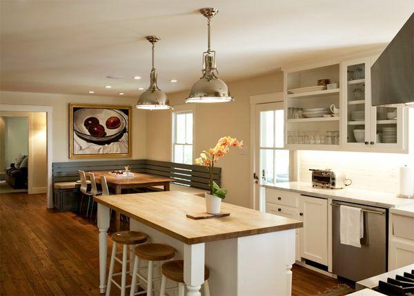 Kitchen: Beautiful Homes, House Ideas, Design Ideas, Kitchen Dreams, Decorating Ideas, Island Bench, Corner Benches, Kitchen Ideas