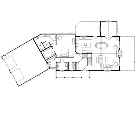 Best 25 L Shaped House Ideas On Pinterest L Shaped House Plans 5 Sided Shape And Modern L