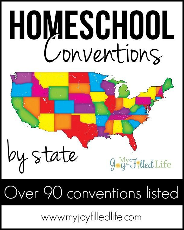 A HUGE List of Homeschool Conventions by State