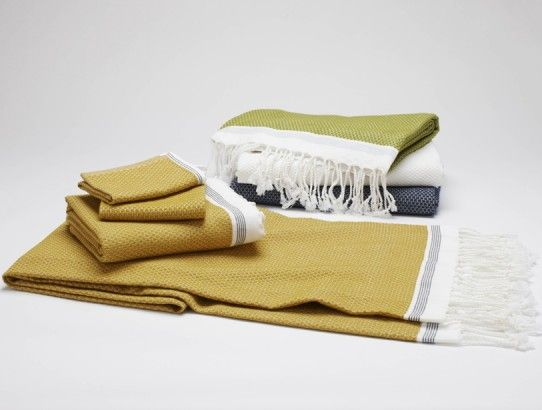 Organic Cotton Turkish Bath Towels