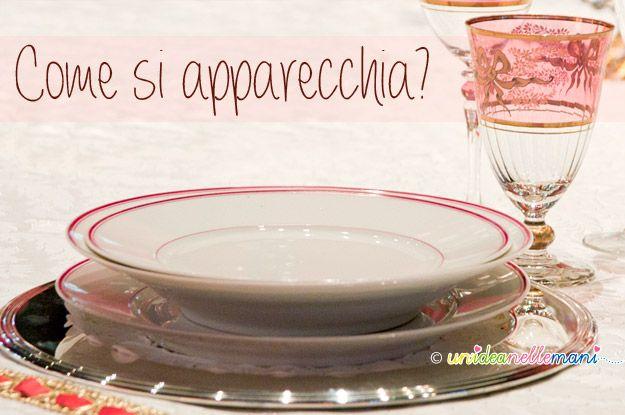 Hai un pranzo o una cena particolare e non vuoi fare brutta figura? Ecco uno schema per ricordare dove vanno messe le posate, i piatti e i bicchieri.