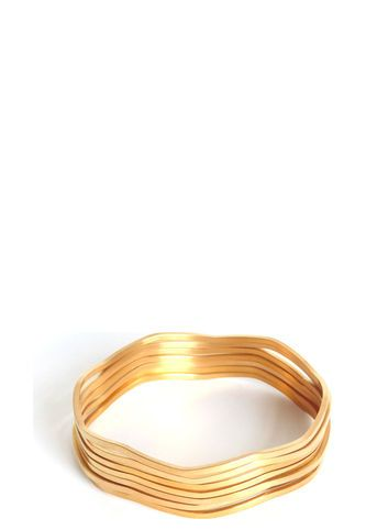 set pulseras doradas Amme
