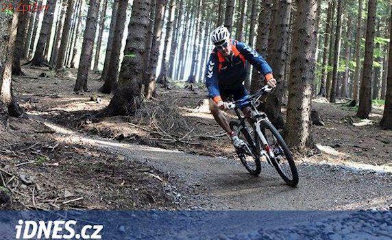 Z táborské Komory odstartují bikeři, projedou i jeskyní