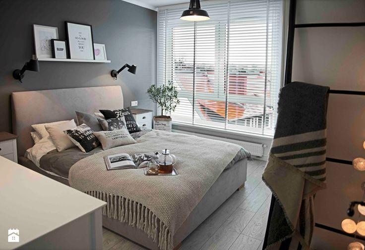 Znalezione obrazy dla zapytania sypialnia styl skandynawski