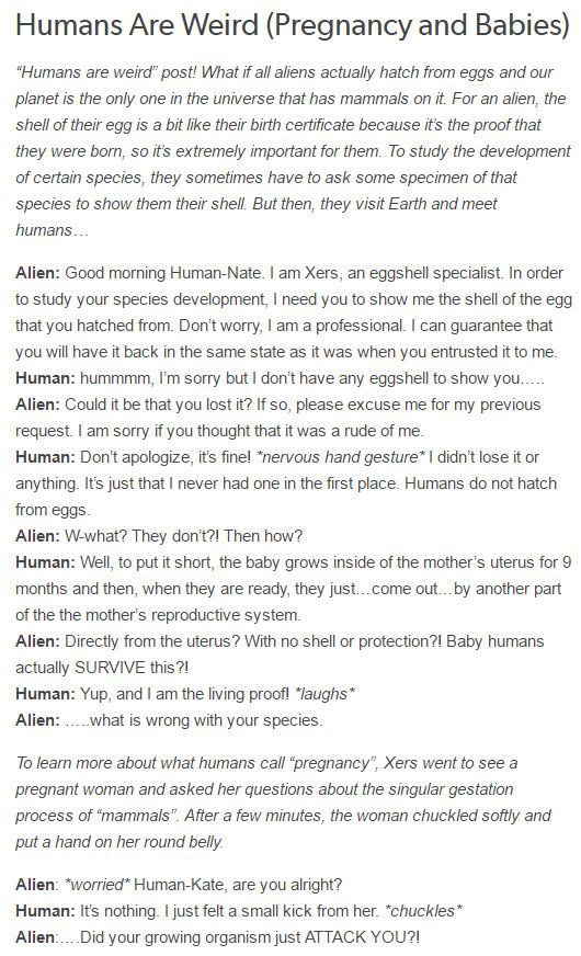 I don't know why I continue to find these Aliens visiting earth theories so funny