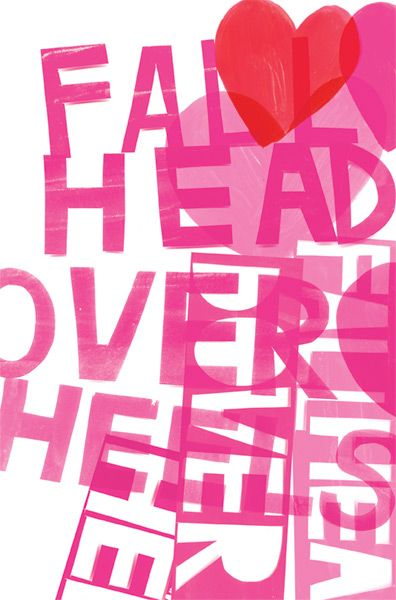 """Fall Head Over Heels"" From Kate Spade. Illustrations by Jenny Bowers."
