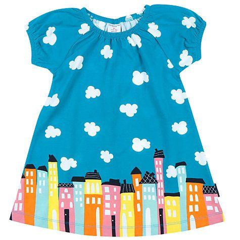 Buy Polarn O. Pyret Baby City Dress, Blue Online at johnlewis.com