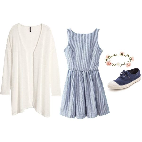 by agneslilian on polyvore featuring h&m, bensimon and accessorize