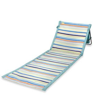 Providing more comfort and cushion than a simple towel and easier to carry than a folding chair, this chair-mat-hybrid is the ideal waterside companion. Stash a snack, sunscreen, and your favorite book within the zippered pocket and you'll be ready for a full day of lounging.
