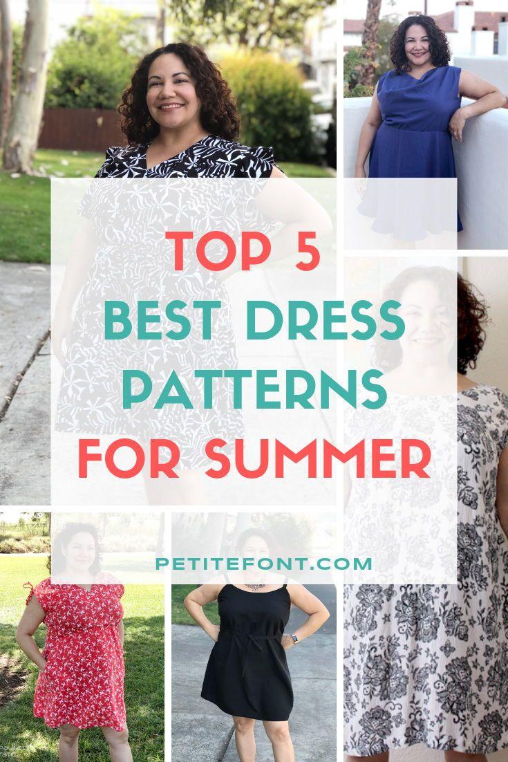 2019 Best Summer Dress Patterns For Woven Fabric Petite Font Best Summer Dresses Summer Dresses Diy Summer Dress Patterns [ 1102 x 735 Pixel ]