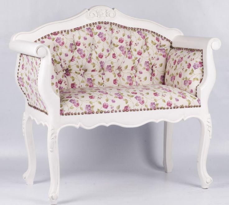 Sofá mini estilo provenzal