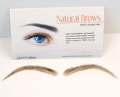 Headcovers -- Many individuals who experience hair loss will lose their eye- brows & eyelashes. These premium quality false eyelashes + eyebrows create the most natural look possible.  A time tested customer favorite, this truly natural looking artificial eyewear features multi-layered hairs with natural variations in length