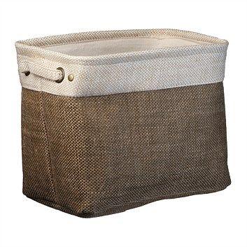 Briscoes - Alloa Basket Brown Large