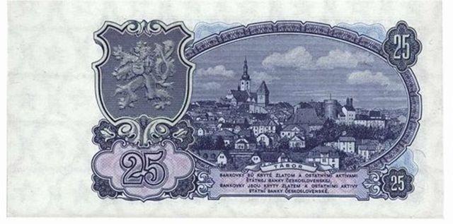 25 Czecho-Slovakian crowns (1925)