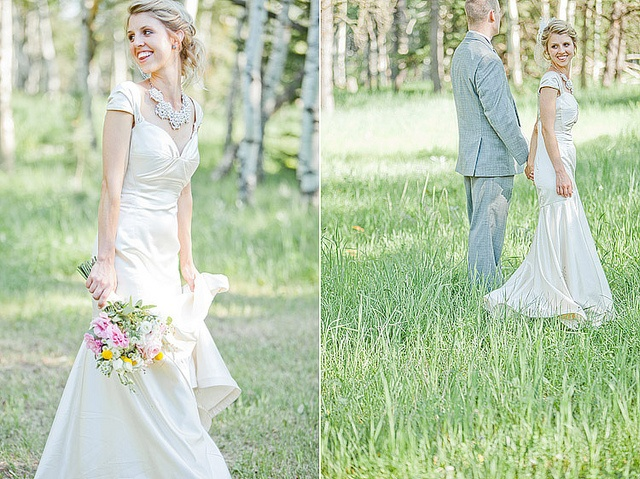Los colores pastel son aquellos que dan la sensación de ser más suaves. Evocan sensaciones de tranquilidad, y están entre los favoritos de las bodas, tanto en la decoración como en los vestidos de novia.